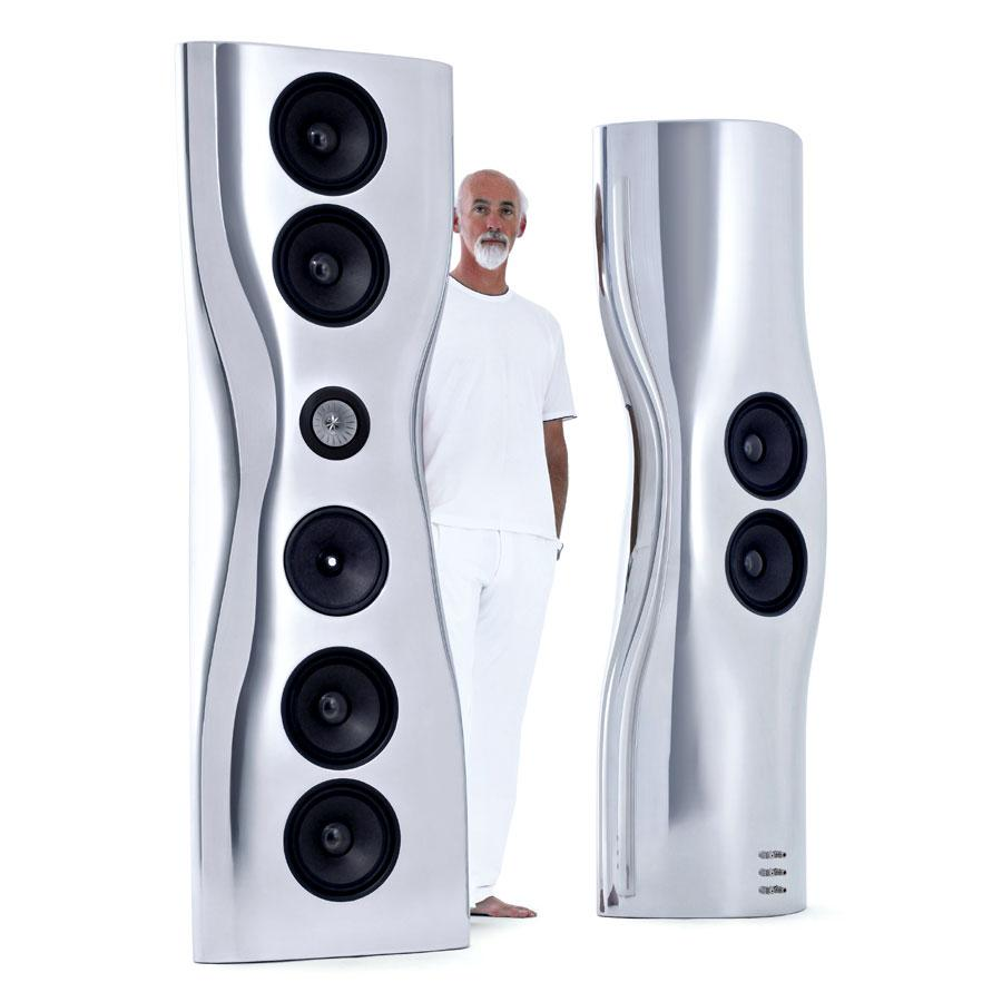 KEF's Iconic MUON Speakers Designer - Ross Lovegrove