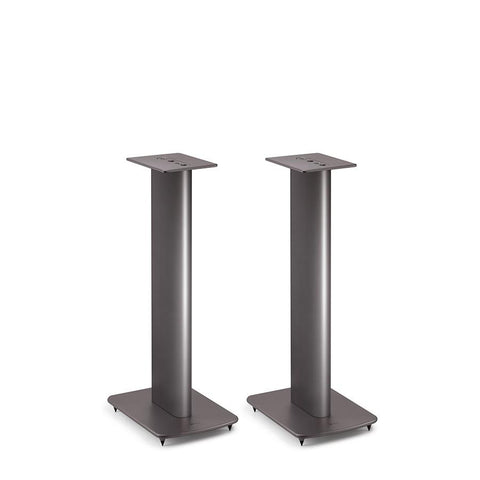 Grey KEF Speaker Stands