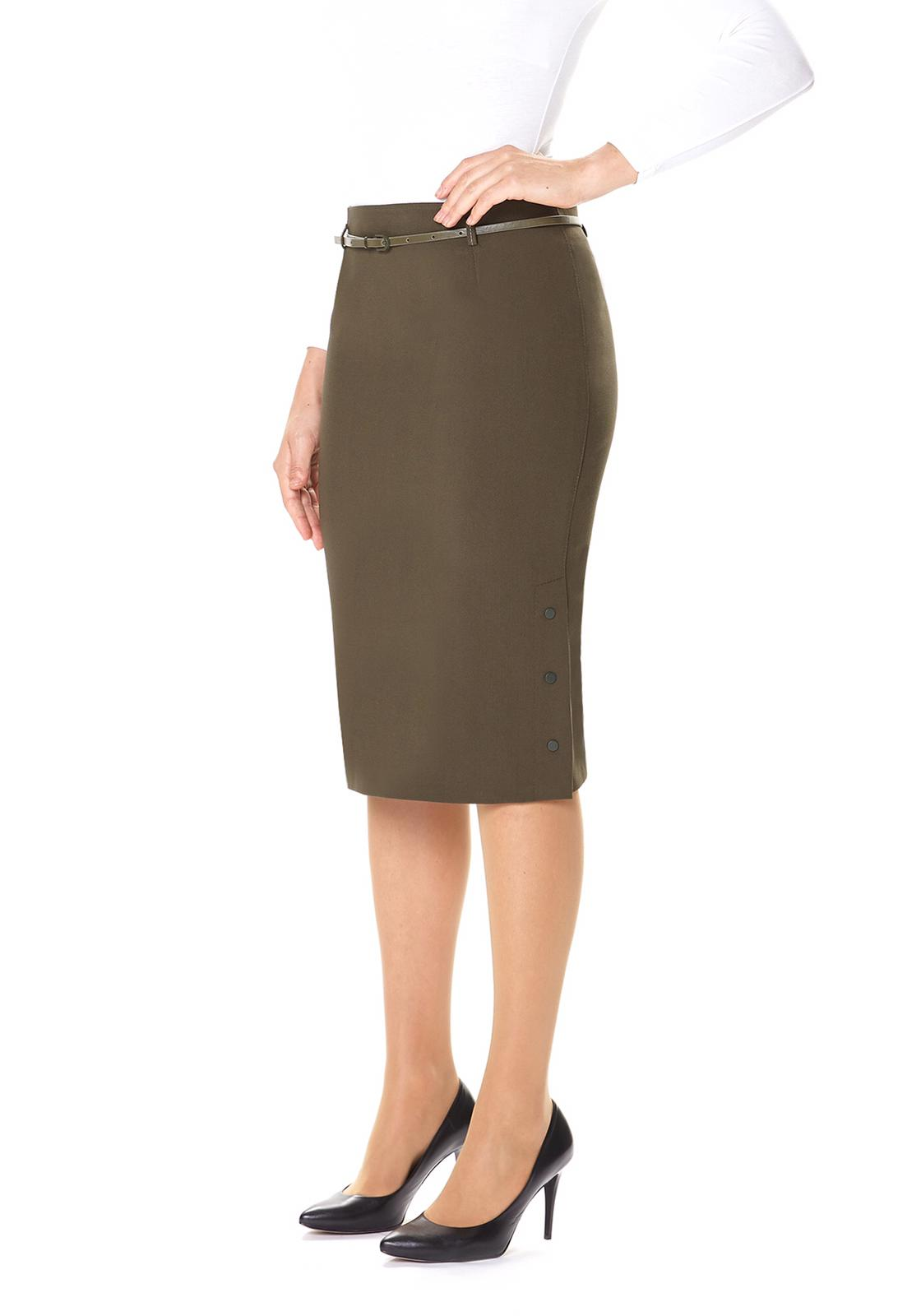 Pencil Skirt - Knee Length at {price}