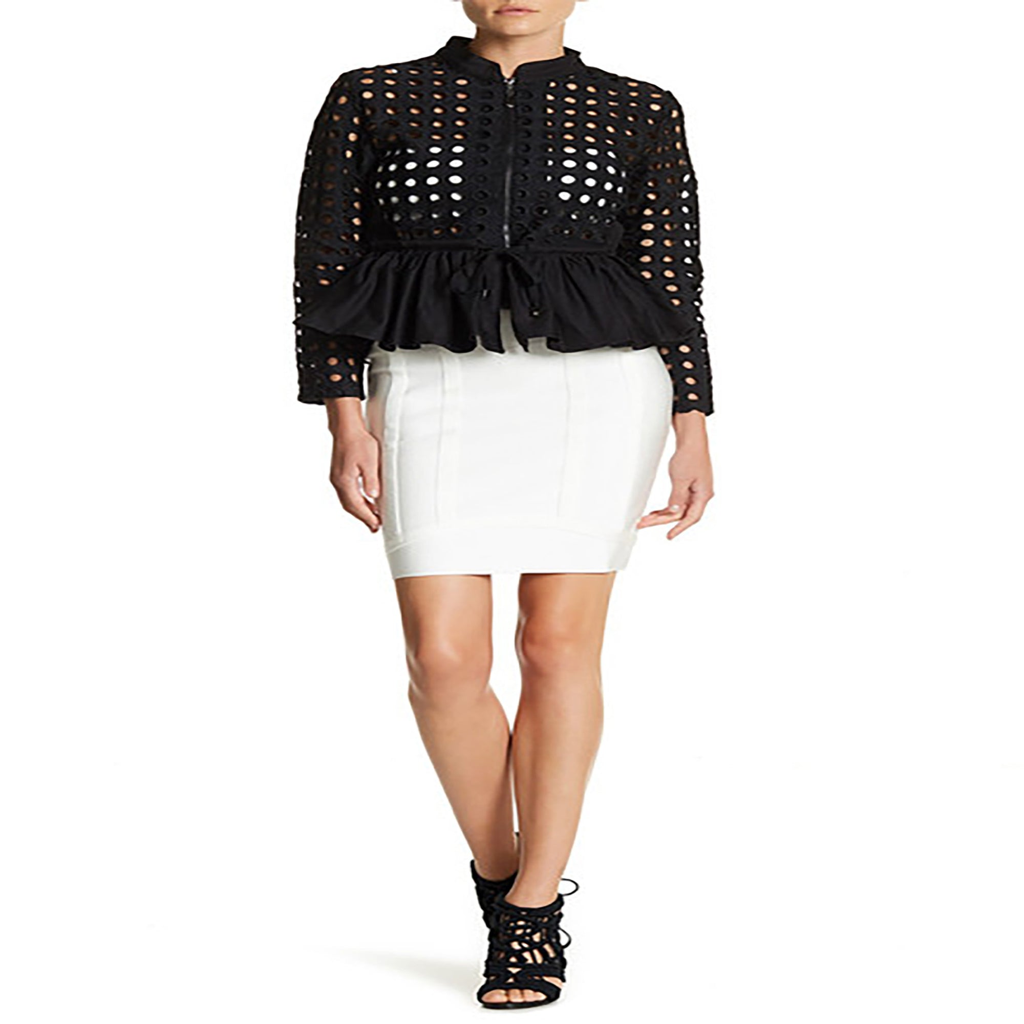 Bandage Mini Skirt - Modern Seasonless Skirt