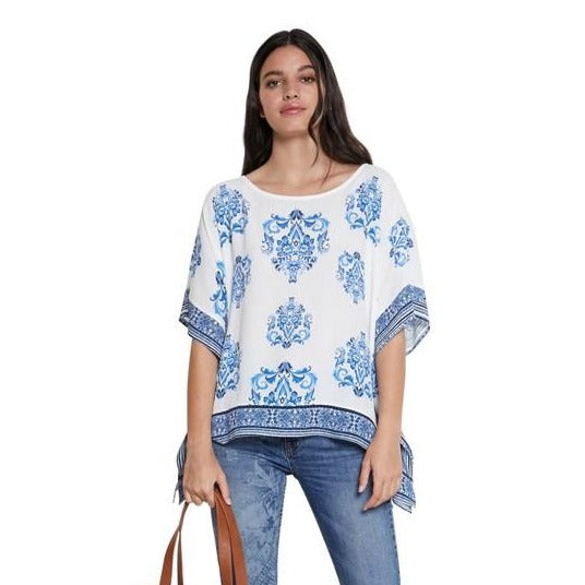 Short Sleeve Pullover Tunic - Andes