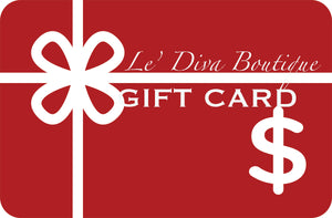 Le' Diva Boutique Gift Card