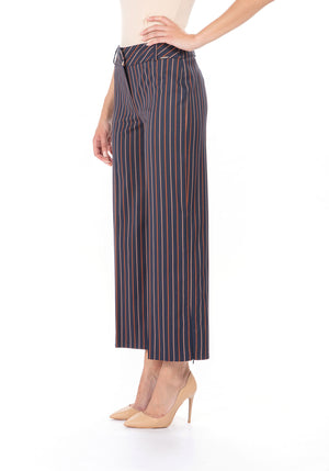 Striped Trouser - Crop Length