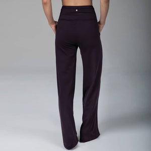 High Waist Wide Leg Pant (Coffee)