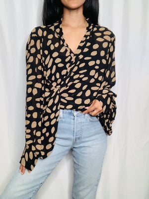 brave+true Morgan Wrap Shirt - fall