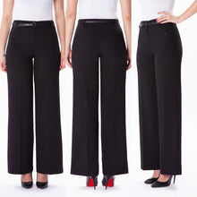 Load image into Gallery viewer, Guzella Basic Trouser - Black