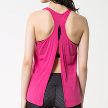 Load image into Gallery viewer, MPG Botanica Tank Top - Pink Glo - MPG