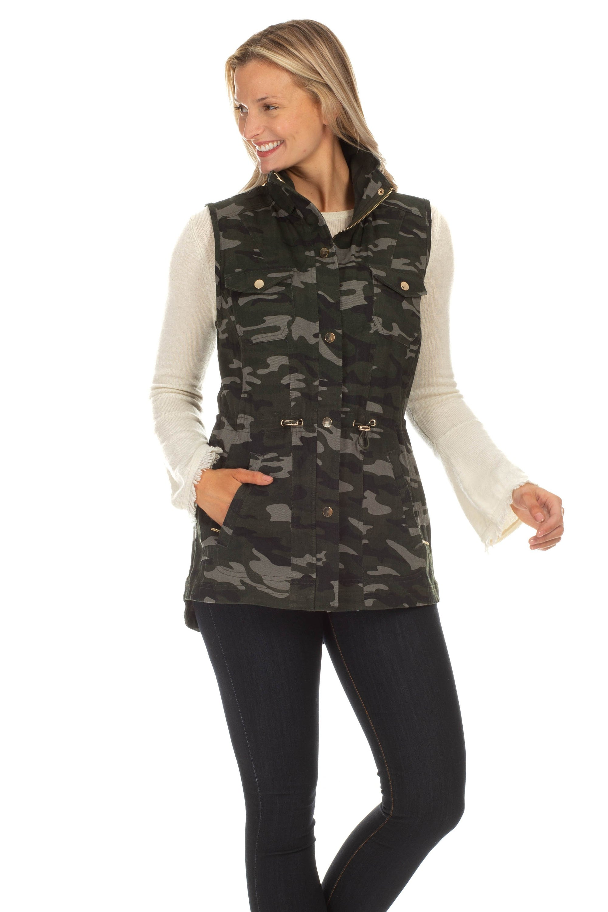 Sumner Camouflage Vest at {price}