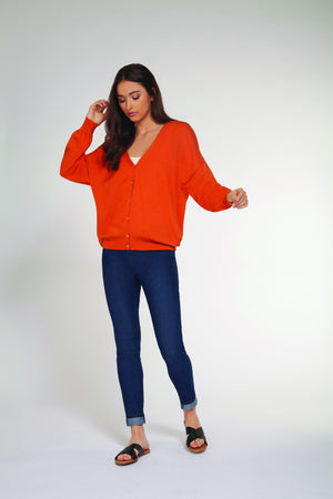 Cardigan Sweater - Orange at {price}