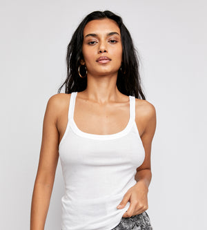 Alia Tank - Optic White