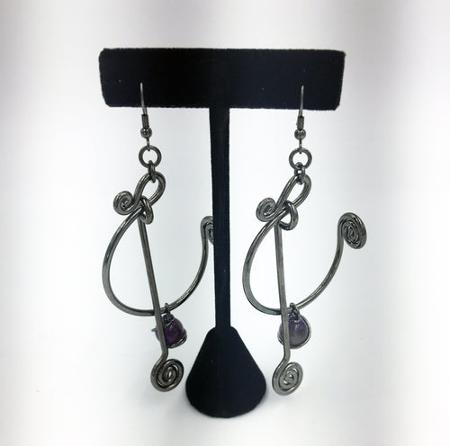 Chanour Artistic Wire Earrings I