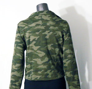 Camouflage Military Style Jacket at {price}