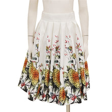 Load image into Gallery viewer, Gracia - Oriental printing gathered skirt