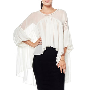 Jewel Neck Blouse at {price}