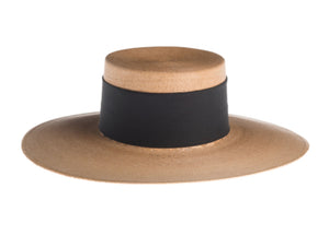 Isla Bonita Wide Brim Cordobes - Tan at {price}