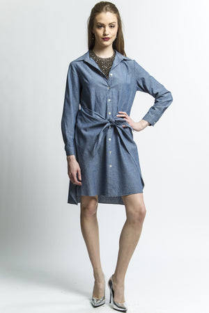 Indigo Transformable Shirt Dress at {price}