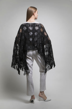 Limited Edition Hand Crochet Poncho at {price}