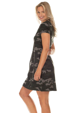 Amber Camouflage Dress at {price}