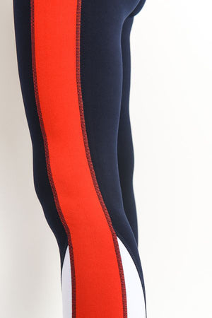 Color Block Highwaist Leggings