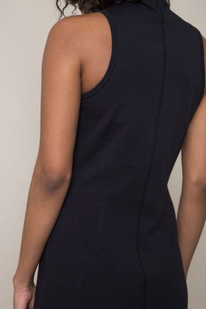 Runway Mock Neck Dress at {price}
