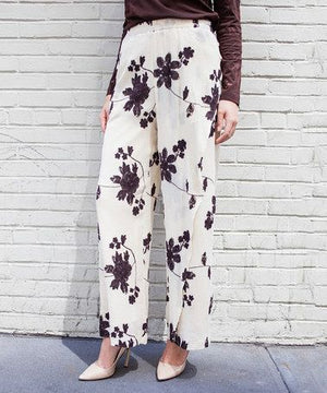 Abstract Wrap Flora Pants
