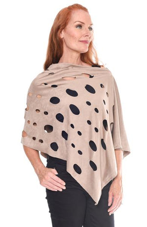 Laser Cut Poncho at {price}
