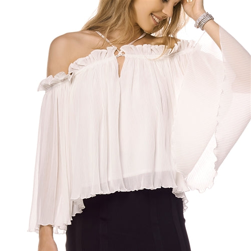 Gathered Off Shoulder Blouse at {price}