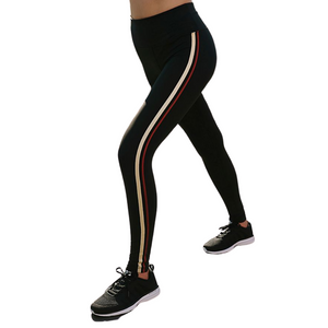 Freestyle High Rise Legging Solid/Stripe
