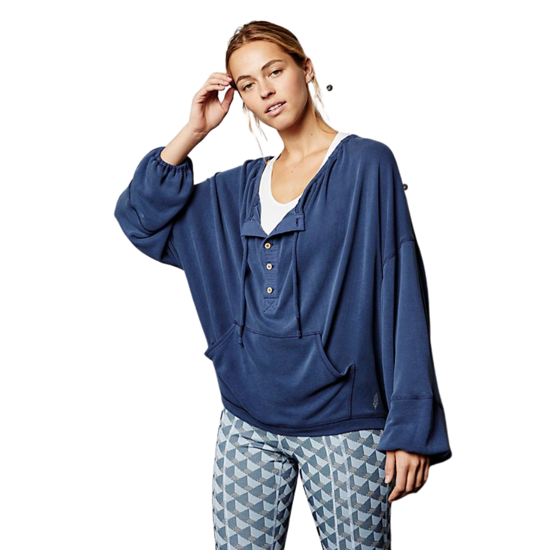 Surfs Up Oversized Pullover Top