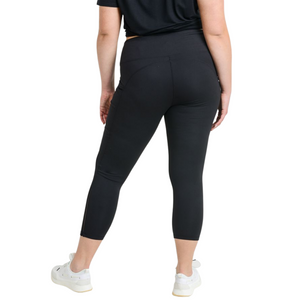 High Waisted Leggings with Mesh