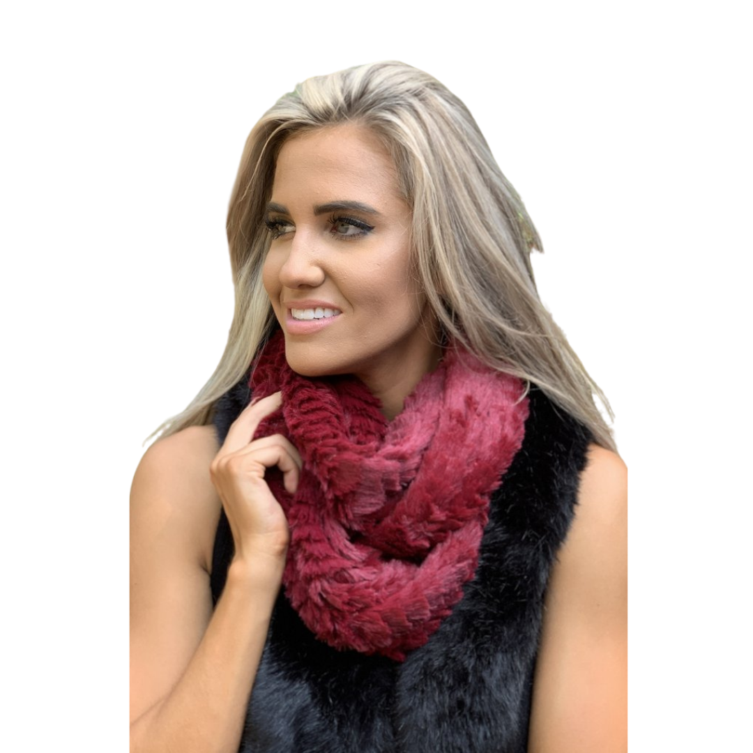 Fashionable Infinity Lightweight Scarf