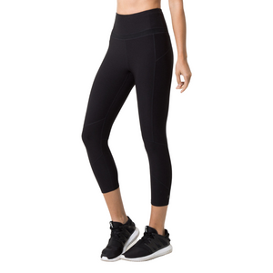 Prelude High Waisted Capri - Black