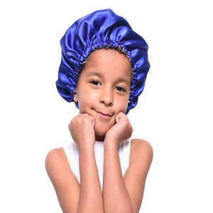 Kids Satin Hair Bonnet - XSmall