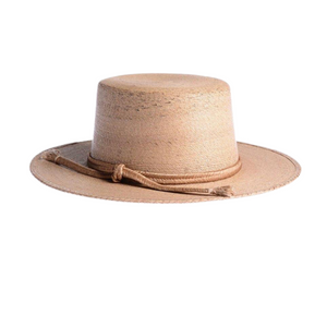 Carmen Cordobes Palm Leaf Natural Hat