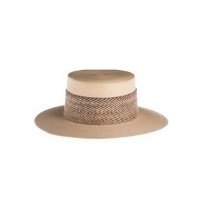 Catalina Cordobes Palm Leaf Natural Hat