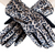 Leopard Print Front Touch Screen Gloves