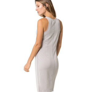 Catwalk Fitted Fitness Dress - Micro Terry