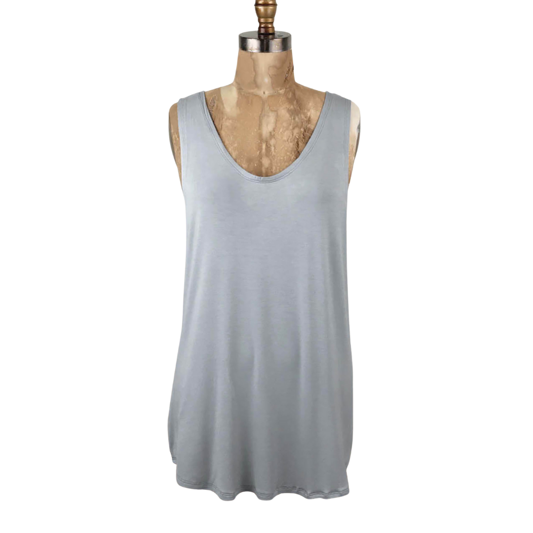 Cleo Relaxed Loose Fitting Tank