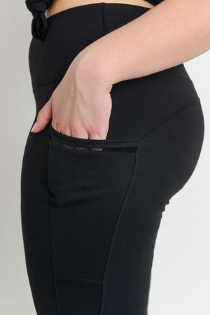 High Waisted Leggings - Plus