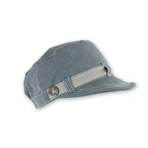 Hat - Vicki Canvas Military Hat at {price}