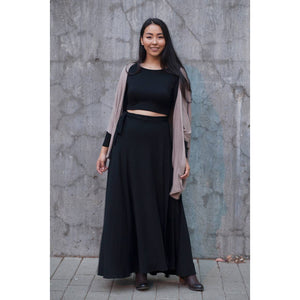 Wrap Skirt - Black