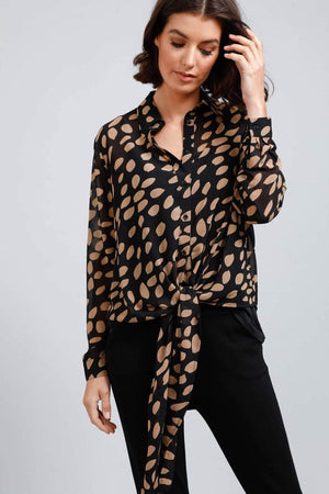 brave+true Alias Button Down Shirt - fall
