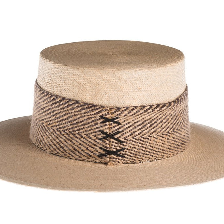 Catalina Cordobes Palm Leaf Natural Hat at {price}