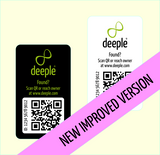 QR Tags for iPads, Laptops, Sports Equipment etc.
