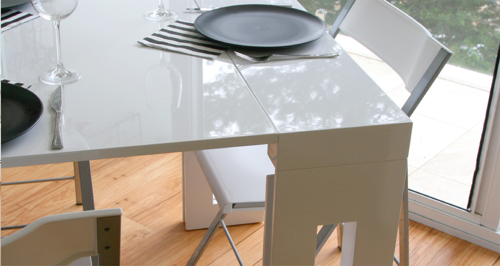EXTENDABLE DINING TABLE - Space Saving Furniture Australia