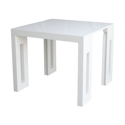 Amico Extendable Table - With 1 Leaf - Space Saving Furniture Australia