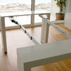 Amico Extendable Table - Mechanism - Space Saving Furniture Australia
