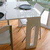 Amico Extendable Table - Leg - Space Saving Furniture Australia