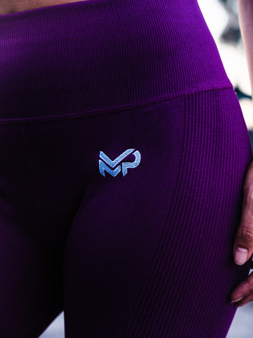 POWER LEGGINGS (DARK VIOLET)