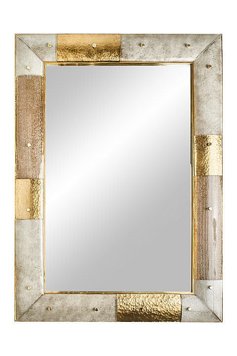 #5001-HGGG - Murano Glass Mirror (Choice of Color)